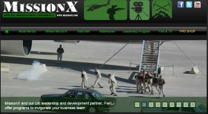 MissionX special operations adventure experience
